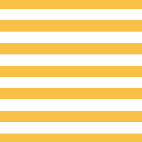 Scrapbook Customs - 12 x 12 Paper - Yellow Jumbo Stripe