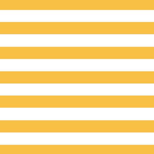 Scrapbook Customs - 12 x 12 Paper - Yellow Jumbo Stripe