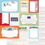 Scrapbook Customs - Travel Photo Journaling Collection - 12 x 12 Double Sided Paper - Kansas - Journal