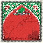 Scrapbook Customs - 12 x 12 Paper - Morocco - Sightseeing
