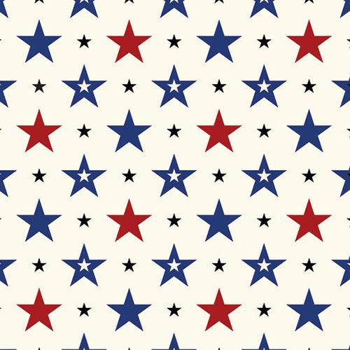 Scrapbook Customs - 12 x 12 Paper - USA - Sightseeing Pattern