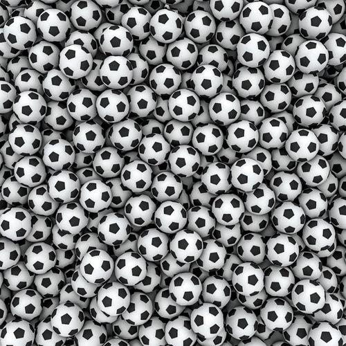 Scrapbook Customs - 12 x 12 Paper - Soccer Repeats