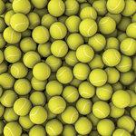 Scrapbook Customs - 12 x 12 Paper - Tennis Repeats