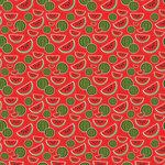 Scrapbook Customs - 12 x 12 Paper - Watermelon