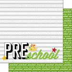 Scrapbook Customs - 12 x 12 Double Sided Paper - Pre-School Year