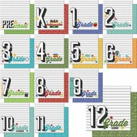 Scrapbook Customs - 12 x 12 Scrapbook Kit - School Years