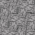Scrapbook Customs - Sports Collection - 12 x 12 Paper - Football Word Grid