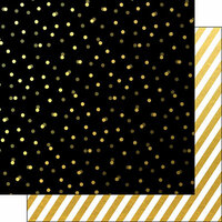 Scrapbook Customs - 12 x 12 Double Sided Paper - Stripes