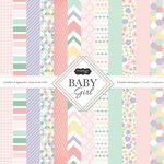 Scrapbook Customs - Baby Girl Collection - 12 x 12 Paper Pack
