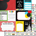 Scrapbook Customs - 12 x 12 Double Sided Paper - Magic Adventure - Journal