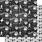 Scrapbook Customs - Baseball Life Collection - 12 x 12 Double Sided Paper - Baseball Life 2