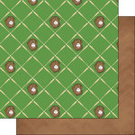 Scrapbook Customs - Baseball Life Collection - 12 x 12 Double Sided Paper - Baseball Life 3