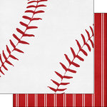 Scrapbook Customs - Baseball Life Collection - 12 x 12 Double Sided Paper - Baseball Life 5