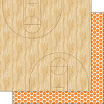 Scrapbook Customs - Basketball Life Collection - 12 x 12 Double Sided Paper - Basketball Life 6