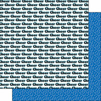 Scrapbook Customs - Cheer Life Collection - 12 x 12 Double Sided Paper - Cheer Life 3