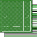 Scrapbook Customs - Lacrosse Life Collection - 12 x 12 Double Sided Paper - Lacrosse Life 3