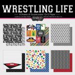Scrapbook Customs - Wrestling Life Collection - 12 x 12 Paper Set