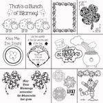 Scrapbook Customs - 12 x 12 Color Me Paper - March Coloring Journal