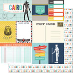 Scrapbook Customs - Travel Adventure Collection - 12 x 12 Double Sided Paper - Cairo Memories Journal