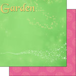 Scrapbook Customs - Inspired By Collection - 12 x 12 Double Sided Paper - Fairy - Right