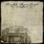 Scrapbook Customs - 12 x 12 Paper - Snowflake AZ - Vintage Temple