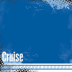 Scrapbook Customs - Cruise Collection - 12 x 12 Paper - Urban