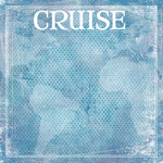 Scrapbook Customs - Cruise Collection - 12 x 12 Paper - World