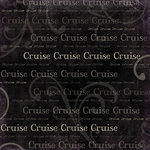 Scrapbook Customs - Cruise Collection - 12 x 12 Paper - Antique Words