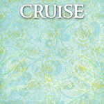 Scrapbook Customs - Cruise Collection - 12 x 12 Paper - Seaweed Swirl