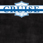 Scrapbook Customs - Cruise Collection - 12 x 12 Paper - Banner
