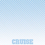 Scrapbook Customs - Cruise Collection - 12 x 12 Paper - Ombre Right