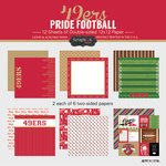 Scrapbook Customs - Football Collection - 12 x 12 Collection Kit - 49ers Pride