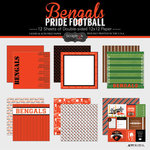 Scrapbook Customs - Football Collection - 12 x 12 Collection Kit - Bengals Pride
