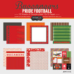 Scrapbook Customs - Football Collection - 12 x 12 Collection Kit - Buccaneers Pride