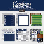 Scrapbook Customs - Football Collection - 12 x 12 Collection Kit - Cowboys Pride