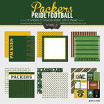 Scrapbook Customs - Football Collection - 12 x 12 Collection Kit - Packers Pride