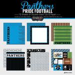 Scrapbook Customs - Football Collection - 12 x 12 Collection Kit - Panthers Pride