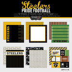 Scrapbook Customs - Football Collection - 12 x 12 Collection Kit - Steelers Pride