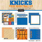 Scrapbook Customs - Basketball - 12 x 12 Paper Pack - Knicks Pride