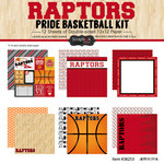 Scrapbook Customs - Basketball - 12 x 12 Paper Pack - Raptors Pride