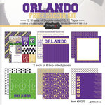 Scrapbook Customs - Soccer - 12 x 12 Paper Pack - Orlando Pride