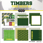 Scrapbook Customs - Soccer - 12 x 12 Paper Pack - Timbers Pride