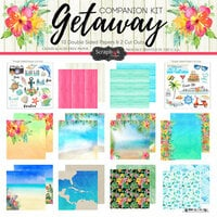 Scrapbook Customs - Getaway Collection - 12 x 12 Paper Pack
