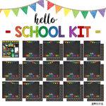 Scrapbook Customs - School Collection - 12 x 12 Paper Pack