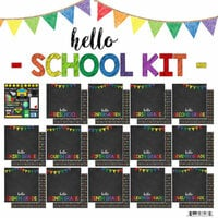 Scrapbook Customs - School Collection - 12 x 12 Paper Pack