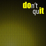 Scrapbook Customs - Neon Sport Quotes Collection - 12 x 12 Paper - Don't Quit