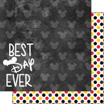 Scrapbook Customs - Magical Collection - 12 x 12 Double Sided Paper - Best Day Ever