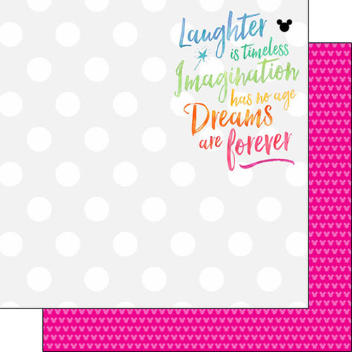Scrapbook Customs - Magical Collection - 12 x 12 Double Sided Paper - Magical Dreams