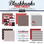 Scrapbook Customs - Hockey Collection - 12 x 12 Collection Kit - Blackhawks Pride