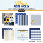 Scrapbook Customs - Hockey Collection - 12 x 12 Collection Kit - Blues Pride